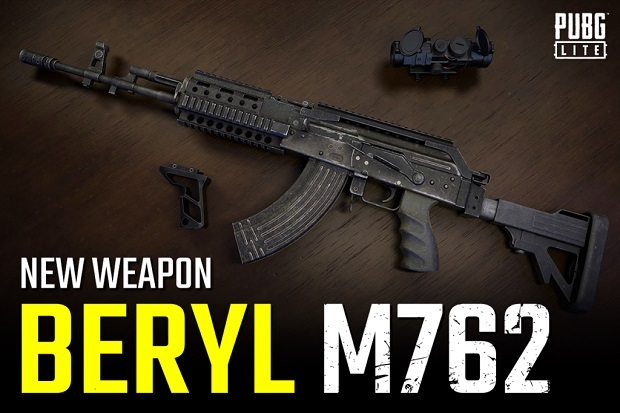 M762 is a damagable weapon!