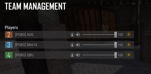 Now you can manage each person in your team