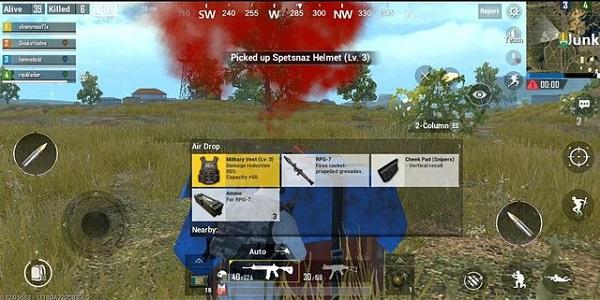 RPG-7 in PUBG Mobile Lite