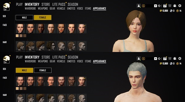 New Faces Added