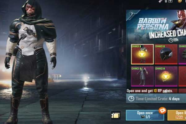 PUBG Mobile features more unique and exclusive items