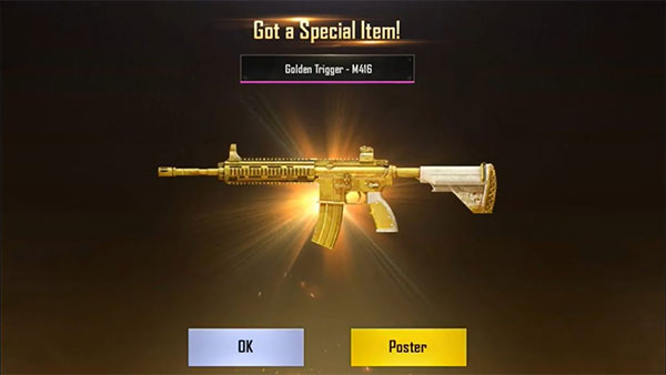 PUBG Mobile features more unique and exclusive items 2
