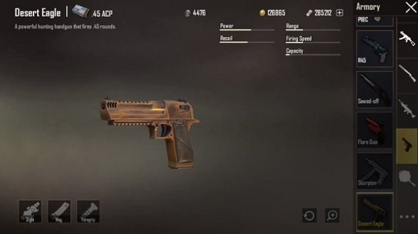 How to use the Desert Eagle in PUBG Mobile 2