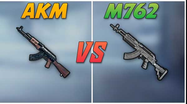 How To Know Which Gun Is Better In PUBG Mobile, M762 And AKM