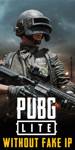 PUBG Lite Without Fake IP