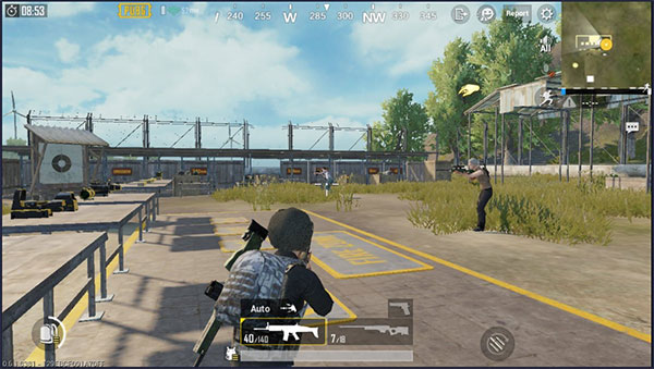 PUBG Mobile Scar-L Usage: suitable for both short and long range targets
