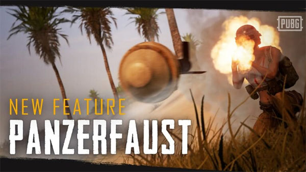 The Panzerfaust - the ultimate weapon which is very rare to find in PUBG Mobile